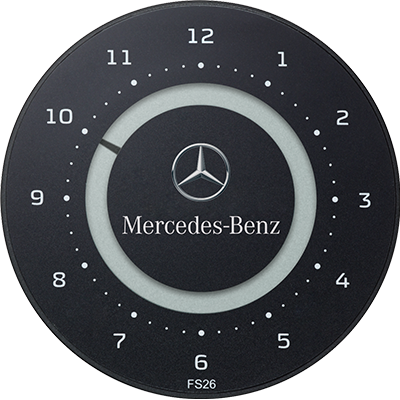 ParkOne 2 logotryk MERCEDES