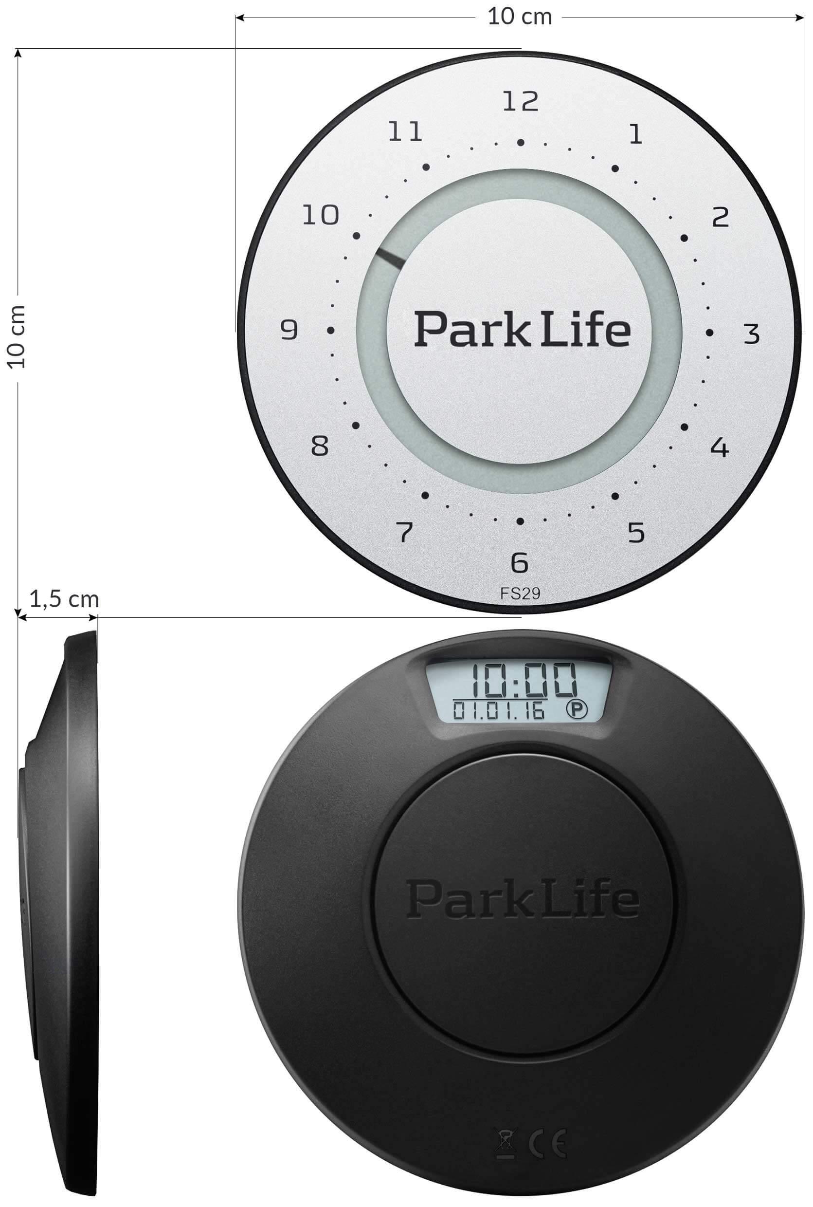 Park Life dimensions